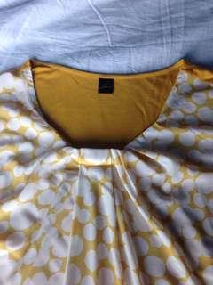 Mustard Dressy Top