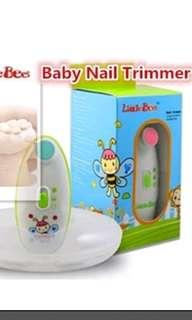 🚚 Baby nail trimmer Little Bees Cartoon baby nailcare