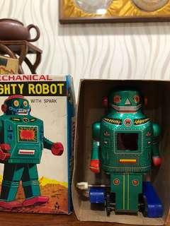 Rare 1970 Robot tin toy made in Japan