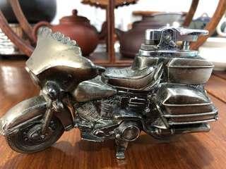 Rare Metal Harley Division Motor Bike With cigarette lighter🔥