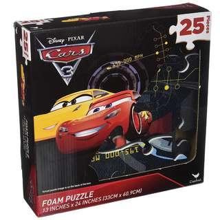 Cars Foam Puzzle