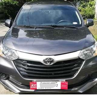 2017 Toyota Avanza E Manual Transmission