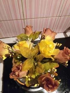 bunga vas teko