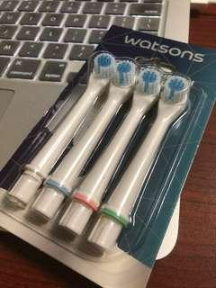 Power toothbrush replacement heads