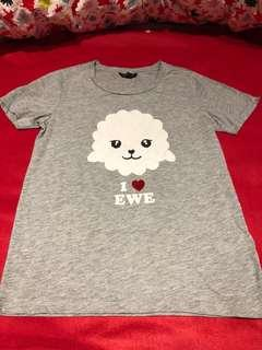 Topshop cloud T-shirt