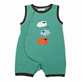 Baby boy sleeveless cute romper clothing  infant product jumpsuit cotton toddler clothes