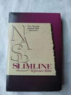 NASB Slimline Reference Bible