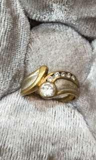 6顆真鑽石K金尾戒🎉超低價含運