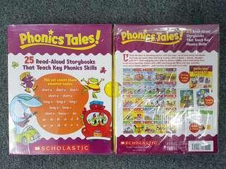 [FREE COURIER] Phonics Tales: 25 Read-Aloud Storybooks That Teach Key Phonics Skills