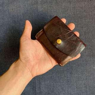 Handcrafted Slim Leather Card Wallet