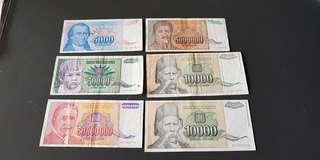 Yugoslavia dinars