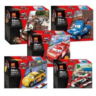Cars building blocks assembly toys
