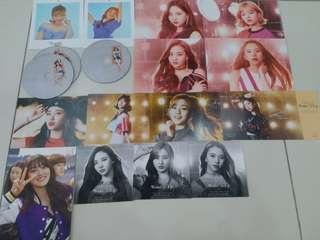 TWICE Postcards & CD