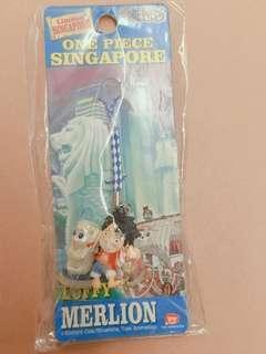 Merlion Singapore keychain