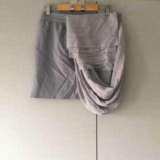 Coexist Skirt with Draping