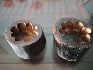 Wood  candle handle