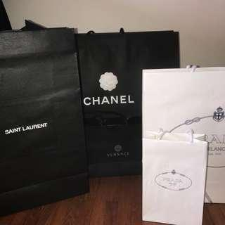 c6acb52e73c saint laurent paper bag
