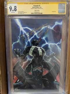 Marvel Venom #1 1:100 Stegman Variant. Signed by Donny Cates