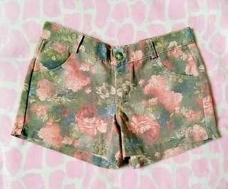 Sexy Floral Shorts