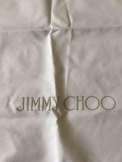 Authentic Jimmy Choo shoe dust nag