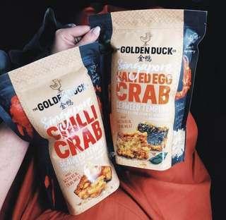 [Pre-Order] Golden Duck - Singapore Chili Crab & Salted Egg Crab Seaweed Tempura