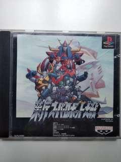 PS1 新 機械人大戰 Neo Robot Wars game
