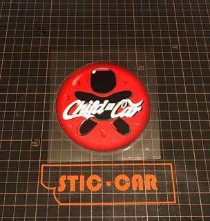 可口可樂 child in car 防水車貼