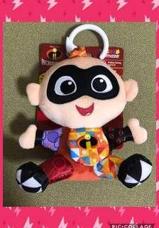 🌈 Lamaze Incredible Jack bb 超人特工隊 積積 嬰兒 玩具 公仔