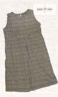 Houndstooth Print Maternity Dress