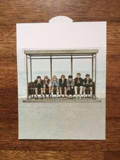 OFFICIAL BTS YNWA paper standee