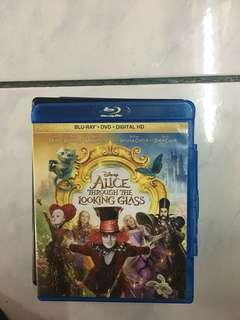 Alice through the looking glass blu ray