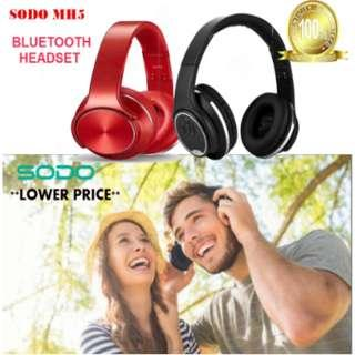 ***Sodo MH5 2in1 Speaker and Headphones Headset Quality Sound Bass Wireless