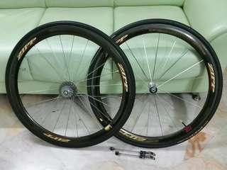 ORIGINAL Zipp 303 Carbon Wheel set Road Bicycle
