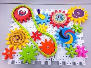 NEW~ Whirlabout Gears Combination 96pcs  / intelligent toy 益智百變齒輪組裝組合