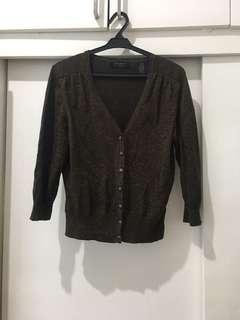 Bronze/Gold Flecks Sweater