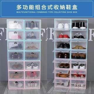 FreeSF 10pcs transparent shoebox