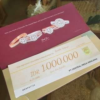 voucher frank&co senilai 1 juta