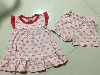 Baby Top & Shorts Set (New)