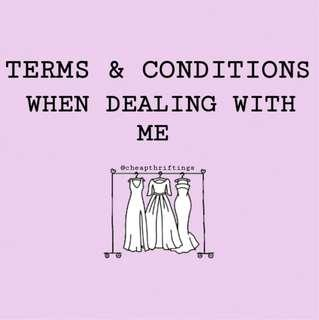 ✨ terms & conditions ✨