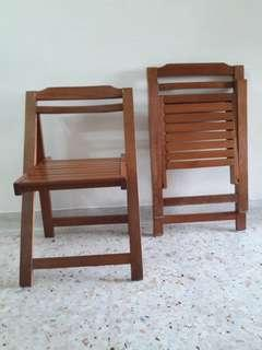 Indoor/Outdoor wooden chair
