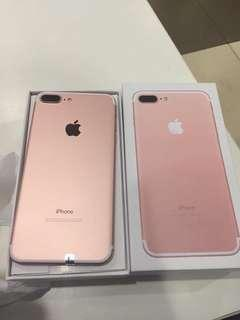 IPhone 7plus 256gb Rosegold Rush need money!