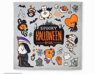 Fast GO BT21 Halloween Series Graphics Blanket