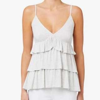 💎 Seed Frilly Cami Grey BNWOT