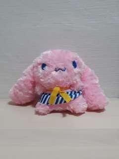 Pink cinnamoroll plush
