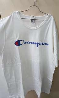 Champion Logo Short Sleeve Reverse Weave T-shirt (White)