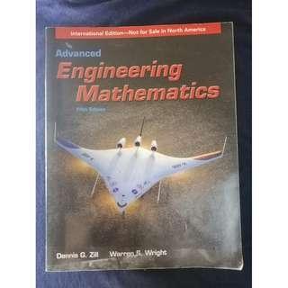 《Advanced Engineering Mathematics》ISBN9781449689803