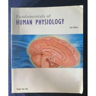 《FUNDAMENTALS OF HUMAN PHYSIOLOGY 》ISBN0071241884