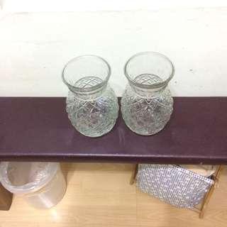 菠蘿型玻璃花瓶
