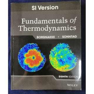 《Fundamentals of Thermodynamics》ISBN9781118321775