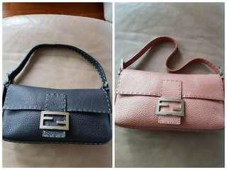 Fendi Baguette in Selleria Leather